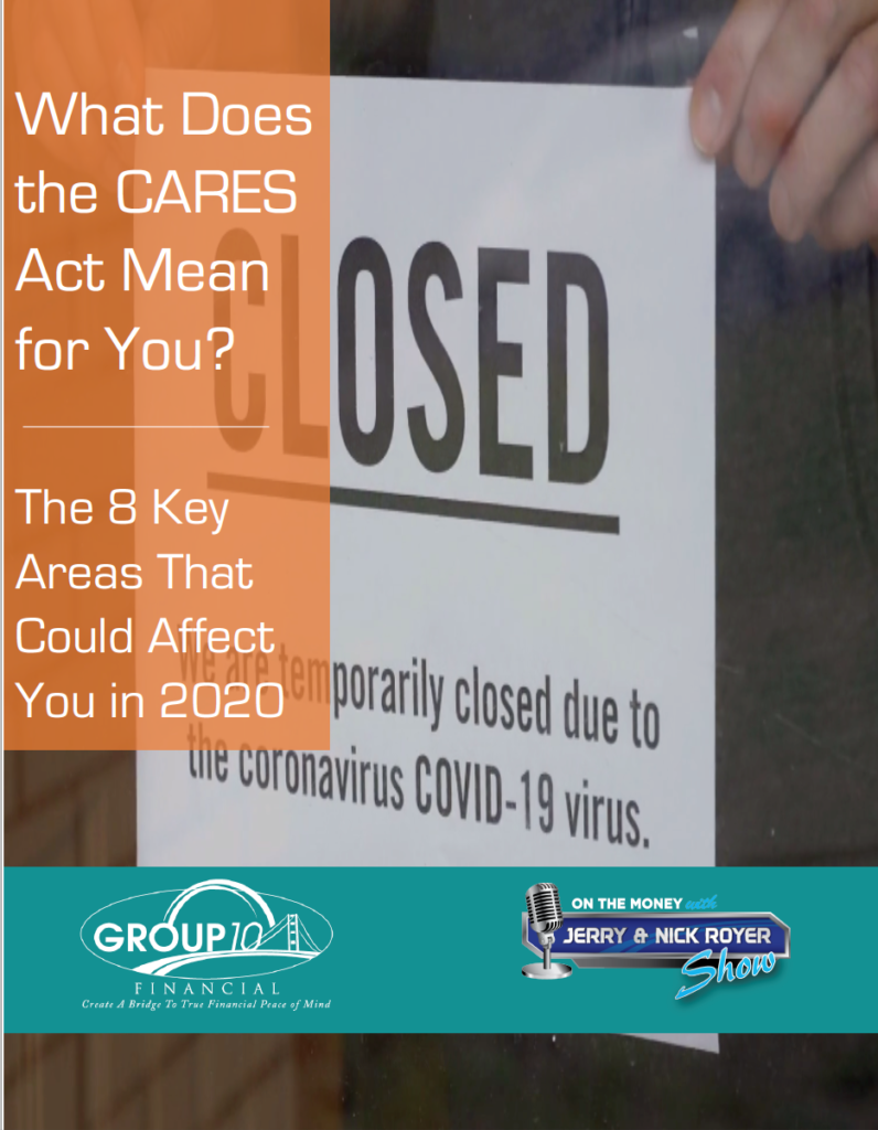 What Does the CARES Act Mean for You