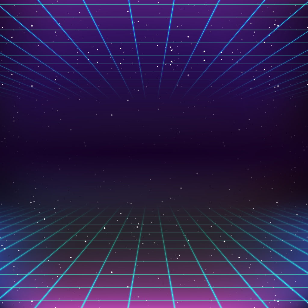 38621162 - 80s retro sci-fi background
